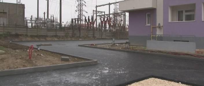 Termica Distribuție Năvodari execută lucrări de asfaltare în întreg orașul Năvodari