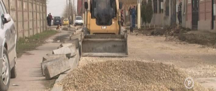 Continuă procesul de modernizare a infrastructurii din Năvodari (VIDEO)