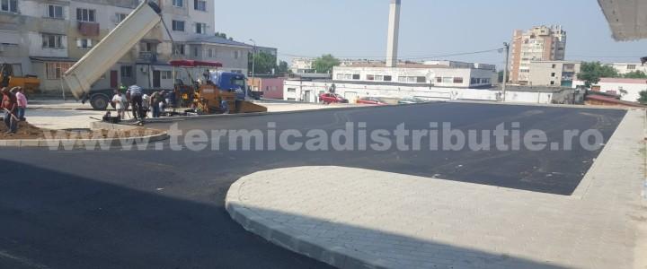 Asfaltare parcare bloc Legmas (galerie foto)