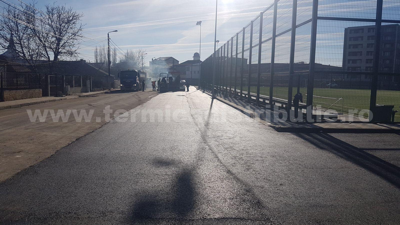 Asfaltare parcare str. Stadionului (18.01.2019)