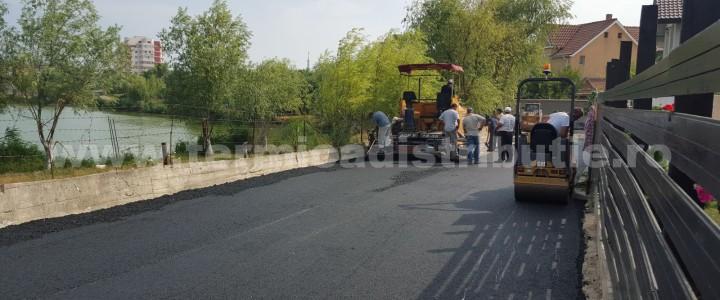 Asfaltare str. Tașaul și Prelungirea Tașaul (galerie foto)