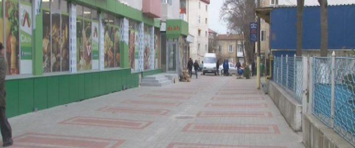 SC TERMICA DISTRIBUȚIE NĂVODARI a încheiat lucrările de la aleea pietonală de pe strada Ghioceilor